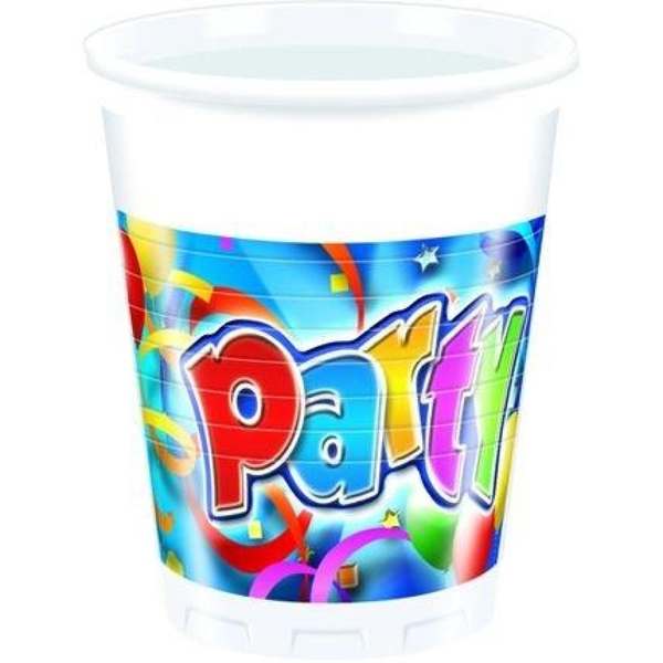 Partybedarfballons - Procos Party Streamers, 8 Becher - Onlineshop Smyths Toys