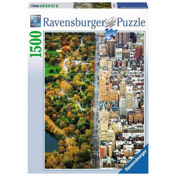 Ausgefallenkreatives - Ravensburger Puzzle Geteilte Stadt, 1500 Teile - Onlineshop Smyths Toys