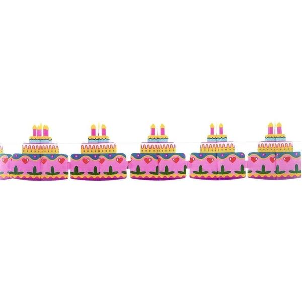 Partybedarfpartydeko - Riethmüller Girlande Torte - Onlineshop Smyths Toys