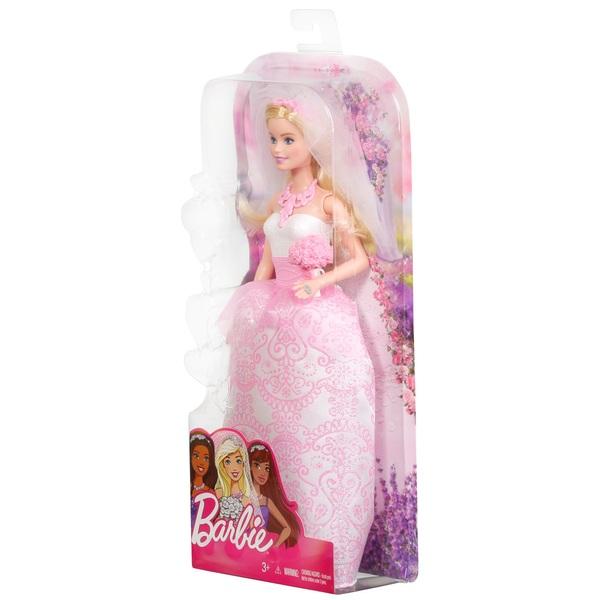 Pink New Barbie Fairytale Bride Doll