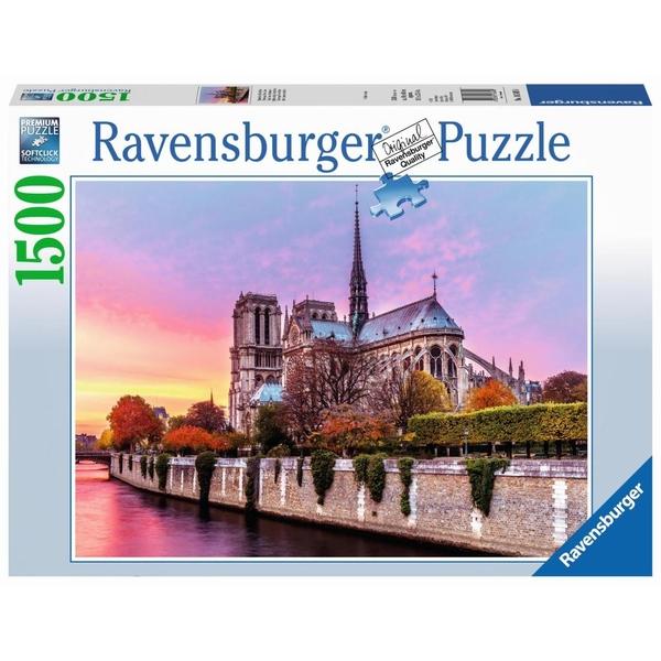 Ausgefallenkreatives - Ravensburger Puzzle Malerisches Notre Dame, 1500 Teile - Onlineshop Smyths Toys