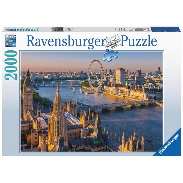 Ausgefallenkreatives - Ravensburger Premium Puzzle Stimmungsvolles London, 2000 Teile - Onlineshop Smyths Toys