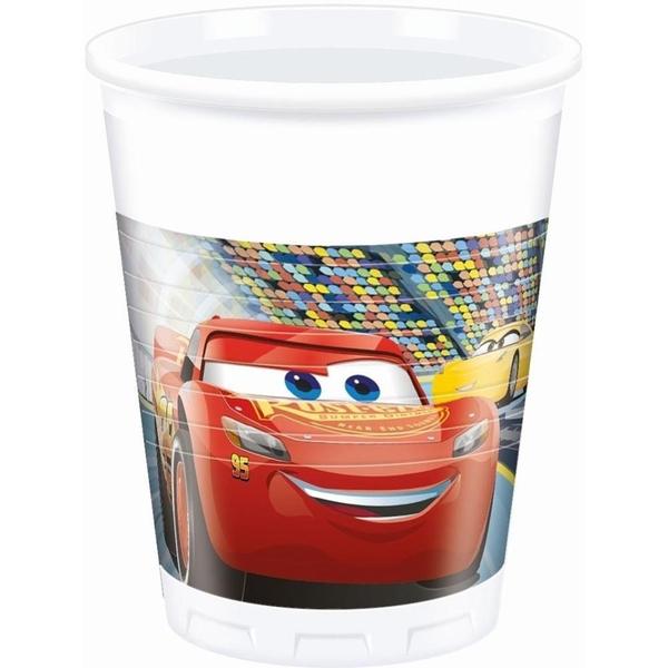 Partybedarfpartydeko - Disney Cars 8 Becher - Onlineshop Smyths Toys
