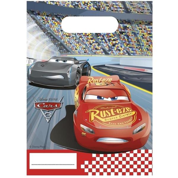 Partybedarfpartydeko - Disney Cars 6 Partytüten - Onlineshop Smyths Toys