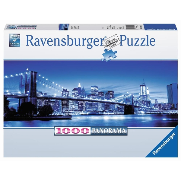 Ravensburger Panorama Puzzle: Leuchtendes New York, 1000 Teile