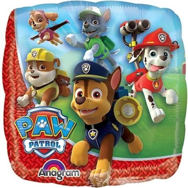 Partybedarfballons - Paw Patrol Folienballon luftbefüllt, 23 cm - Onlineshop Smyths Toys