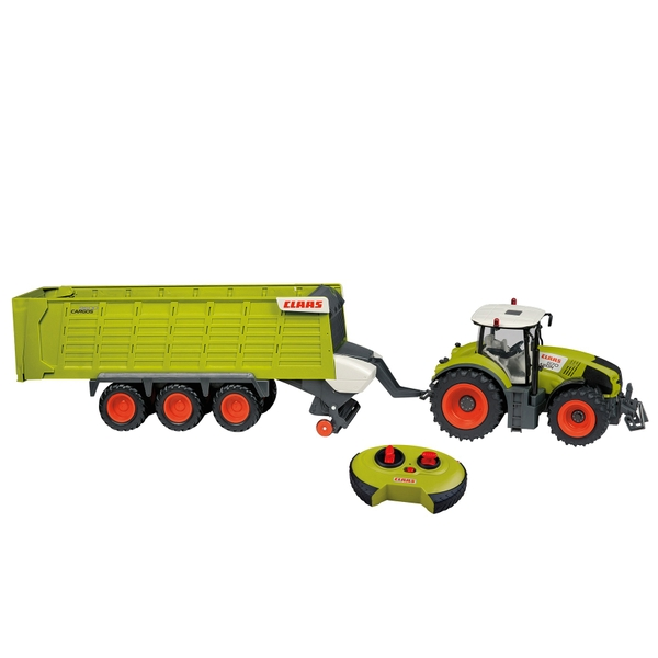 Claas 870 Axion Radio Control Tractor and Trailer