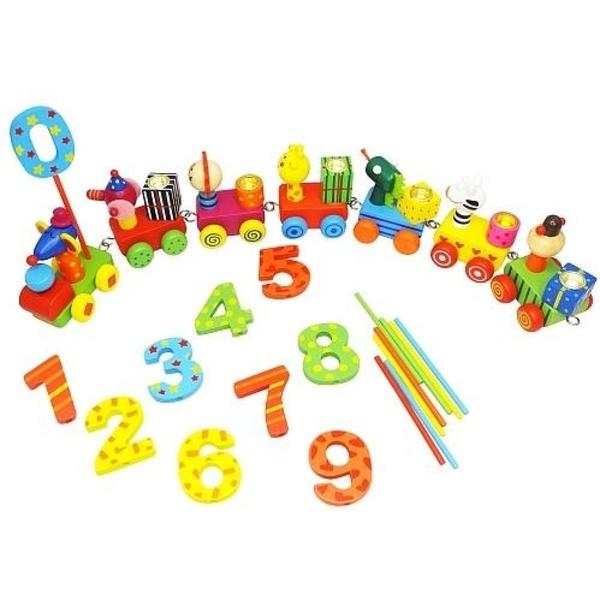 Partybedarfpartydeko - Bieco Geburtstagszug mit Zahlen - Onlineshop Smyths Toys