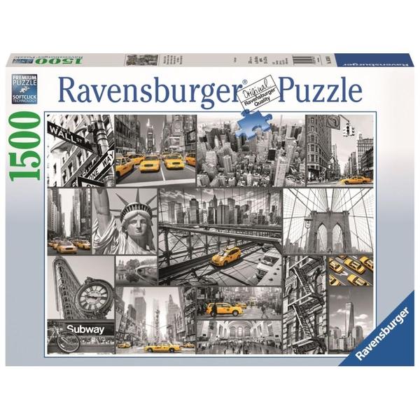 Ausgefallenkreatives - Ravensburger Puzzle Farbtupfer in New York, 1500 Teile - Onlineshop Smyths Toys