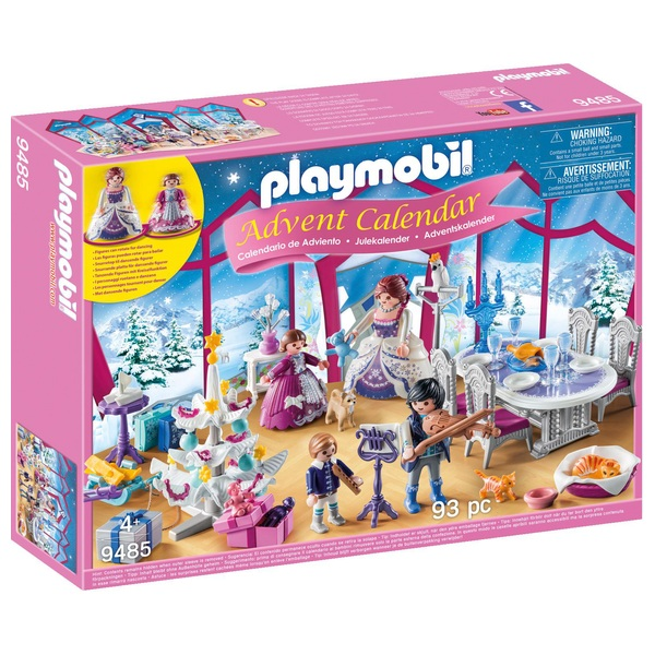 Playmobil 9485 Advent Calendar  Christmas Ball with Rotating Platform