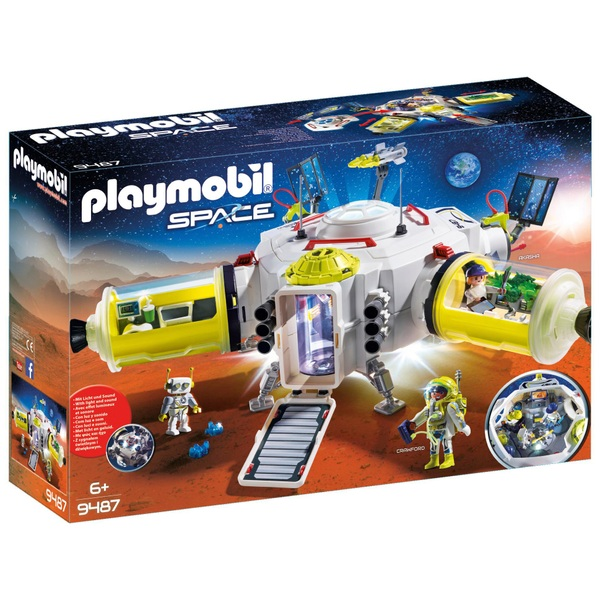 Playmobil 9487 Space Mars Space Station with Double Laser Shooter
