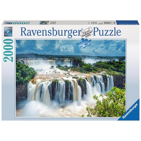 Ausgefallenkreatives - Ravensburger Puzzle Wasserfälle von Iguazu, Brasilien, 2000 Teile - Onlineshop Smyths Toys