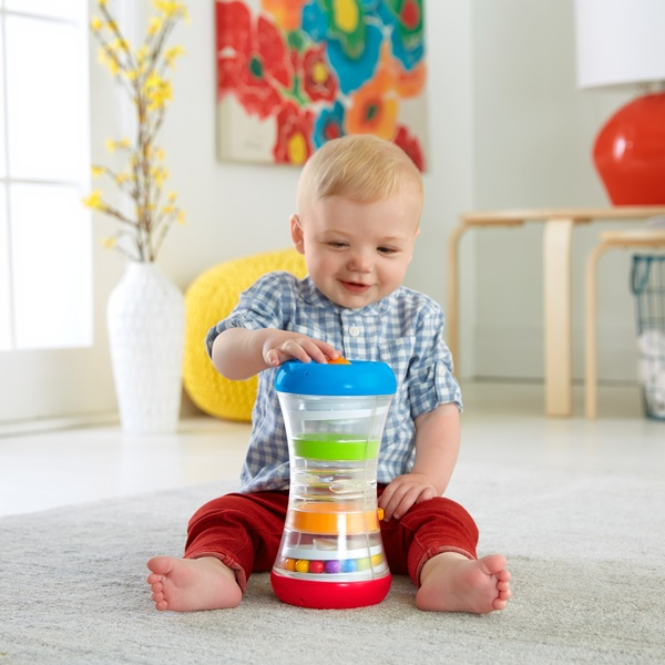Fisher-Price 3-IN-1 Crawl Along Tumble Tower