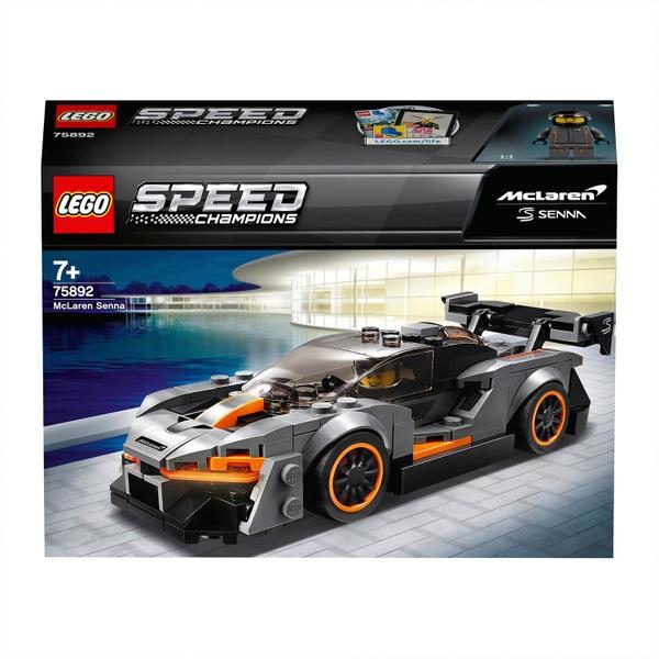 LEGO 75892 McLaren Senna Car Toy Collectible Model