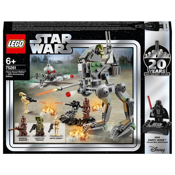 Lego 75261 Star Wars Clone Scout Walker 20th Anniversary Edition