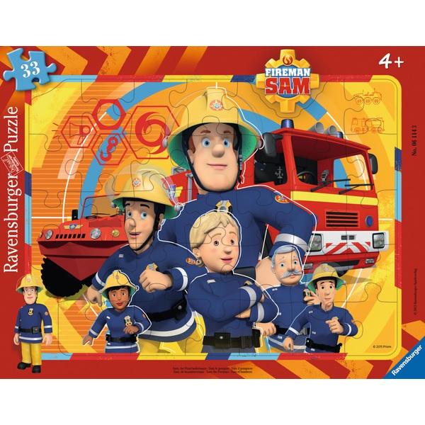 Ausgefallenkreatives - Ravensburger Rahmenpuzzle Feuerwehrmann Sam Bundle - Onlineshop Smyths Toys
