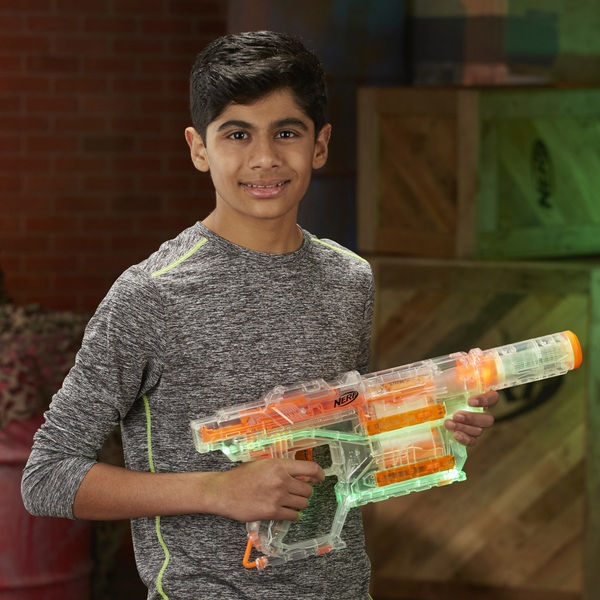 NERF Modulus Ghost Ops Shadow ICS-6 Blaster