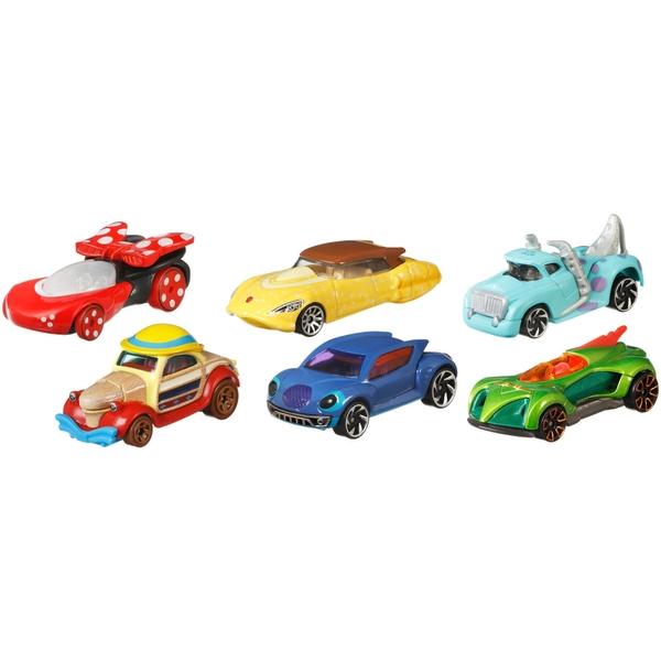 Hot Wheels Disney Diecast Vehicles Assortment