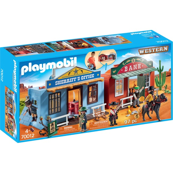 Playmobil 70012 Western Take Along Western City