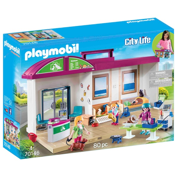Playmobil 70146 Takeaway Veterinary Clinic