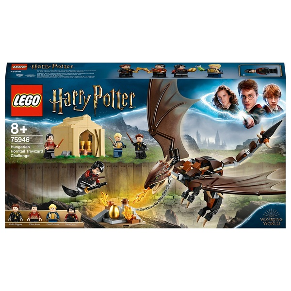 LEGO 75946 Harry Potter Hungarian Dragon Challenge Toy