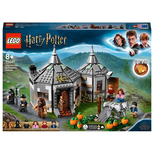 LEGO 75947 Harry Potter Hagrid's Hut Buckbeak the Hippogriff's Rescue Set