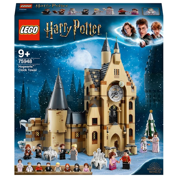 LEGO 75948 Harry Potter Hogwarts Clock Tower Toy