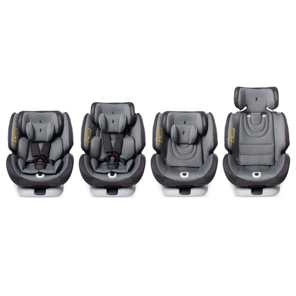 Osann One 360 Group 0-1-2-3 Car Seat Grey