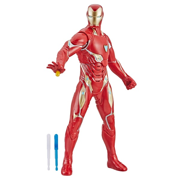Marvel Avengers:  Repulsor Blast Iron Man Figure