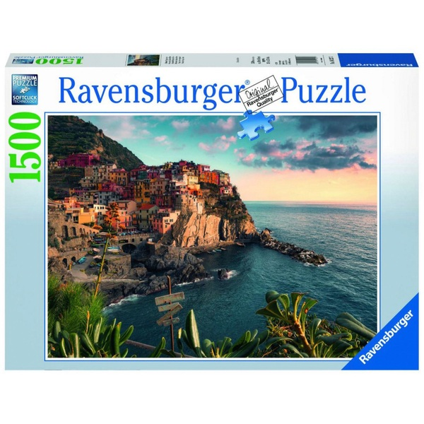 Ausgefallenkreatives - Ravensburger Puzzle Blick auf Cinque Terre, 1500 Teile - Onlineshop Smyths Toys