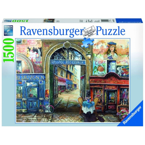 Ausgefallenkreatives - Ravensburger Puzzle Passage in Paris, 1500 Teile - Onlineshop Smyths Toys