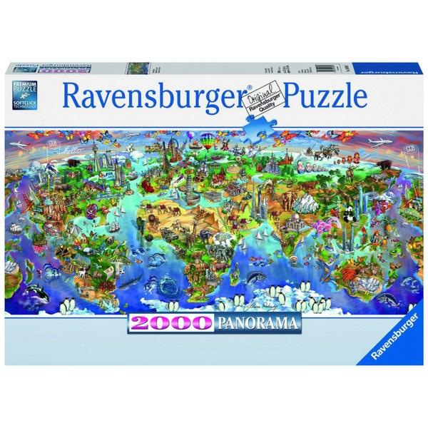Ausgefallenkreatives - Ravensburger Puzzle Wunder der Welt, 2000 Teile - Onlineshop Smyths Toys
