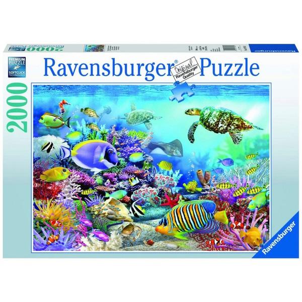 Ausgefallenkreatives - Ravensburger Puzzle Lebendige Unterwasserwelt, 2000 Teile - Onlineshop Smyths Toys