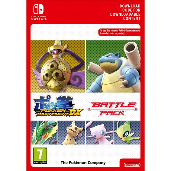 Pokken Tournament DX Battle Pack Nintendo Switch