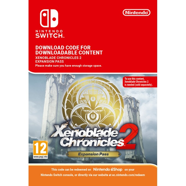 Xenoblade Chronicles 2: Expansion Pass Nintendo Switch (Digital Download)