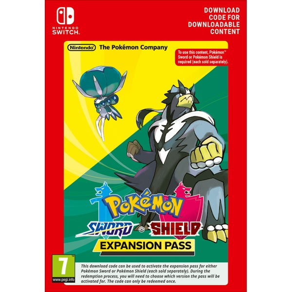 Pokemon Sword or Shield Expansion Pass (Digital Download)
