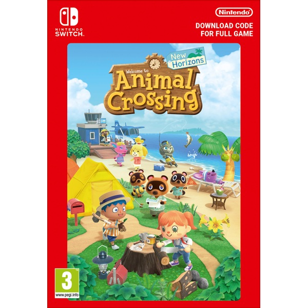 Animal Crossing New Horizons - Nintendo Switch (Digital Download)