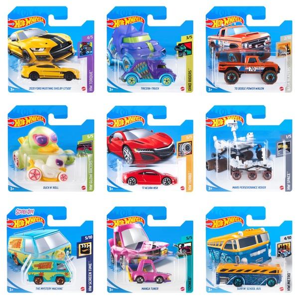 Hot Wheels - Fahrzeuge (1:64), sortiert