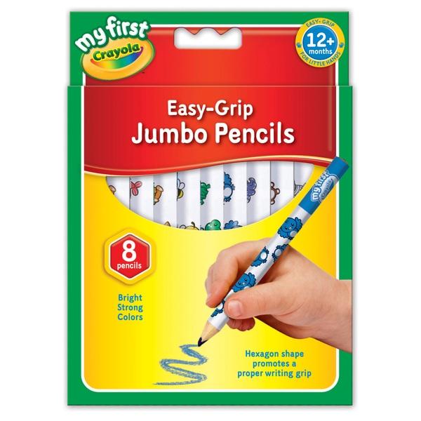 Crayola - 8 Jumbo Buntstifte