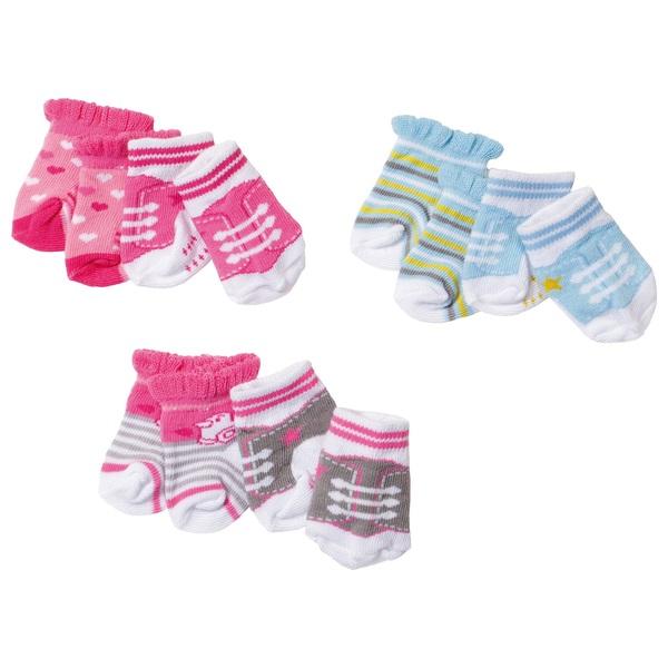 BABY born - Socken 2 Paar, sortiert