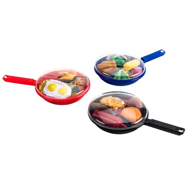 Spielküche Bratpfannen-Set, sortiert