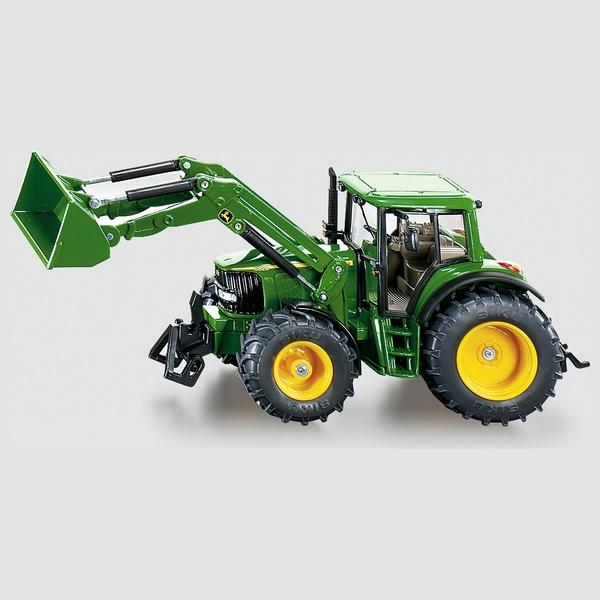 SIKU Farmer - 3652: John Deere mit Frontlader, 1:32