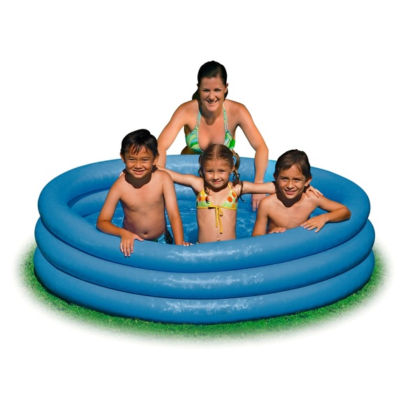 Intex - Pool 168 x 41 cm, blau