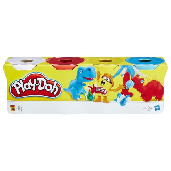 Play-Doh - Knete, 4-tlg., sortiert