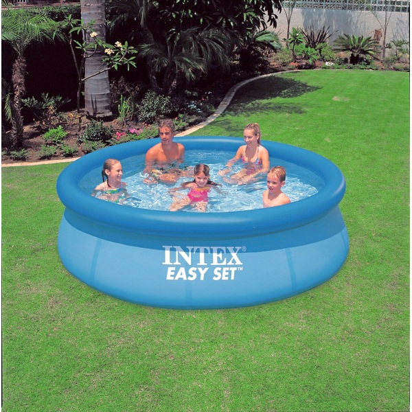 Intex 15 x 48 Easy Set Swimming Pool 1,000 gph Pump and ...