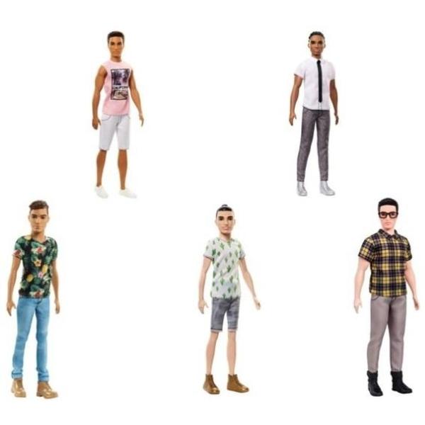 Barbie - Fashionistas: Ken oder Ryan, sortiert