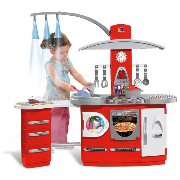 Molto Deluxe Küche mit Beleuchtung - Spielküchen & Haushalt Deutschland