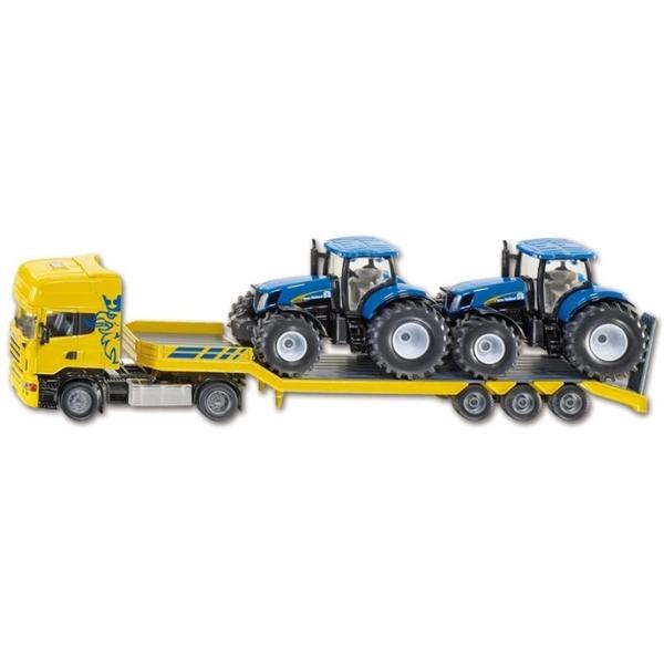 SIKU Super - 1984: LKW mit Traktoren, 1:50