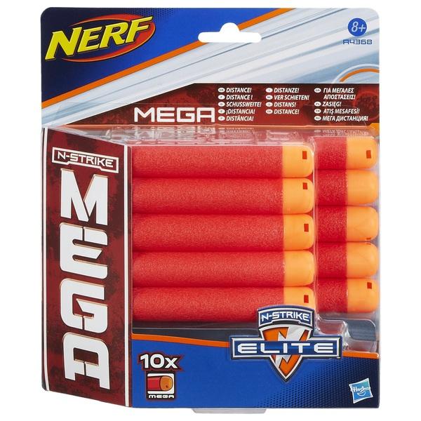 NERF - N-Strike Elite Mega Nachfüllpack, 10 Stk