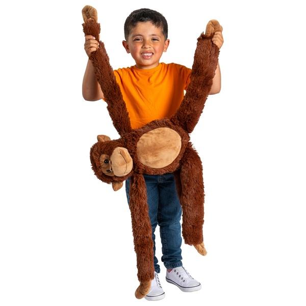 Affe zum Umhängen, braun